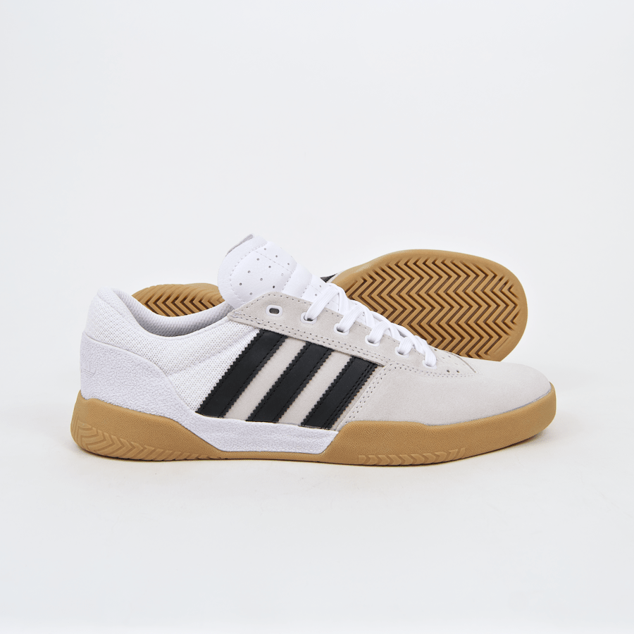 Adidas Skateboarding - City Cup Shoes - Footwear White / Core Black / Gum