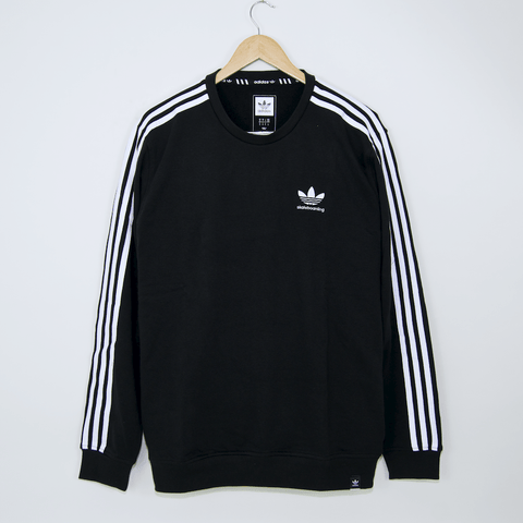 Adidas Skateboarding - Clima 2.0 Crewneck Sweater - Black / White