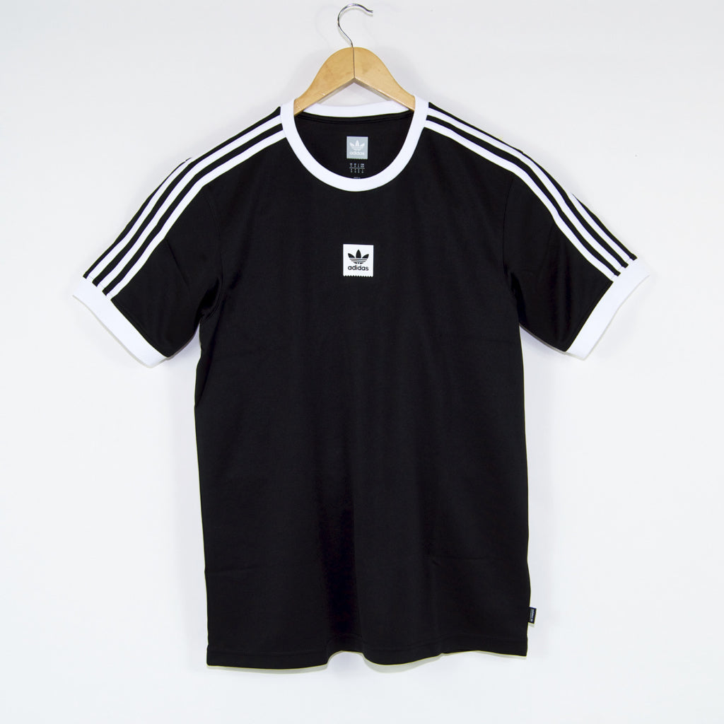 Adidas Skateboarding - Club Jersey - Black / White