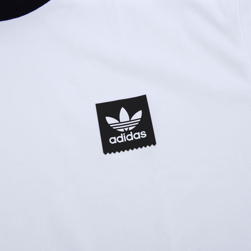 Adidas Skateboarding - Club Jersey - White / Black