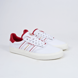 best sneakers 90f1f 53fed Adidas Skateboarding - Evisen 3MC Shoes - Footwear White  Scarlet  Gold  Metallic