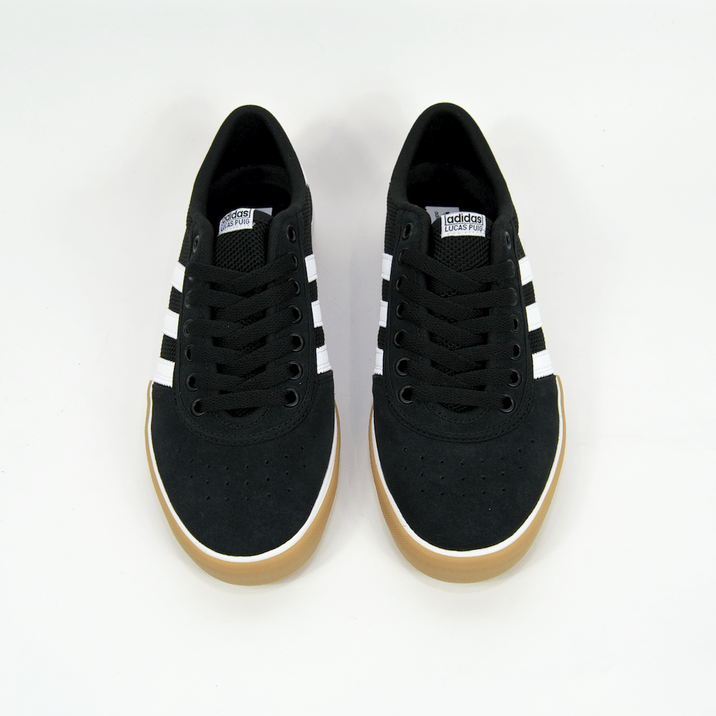 Adidas Skateboarding - Lucas Premiere ADV Shoes - Core Black / Footwear White / Gum