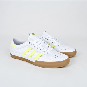 Adidas Skateboarding - Lucas Premiere ADV Shoes - Footwear White / Hi-Res Yellow / Gum