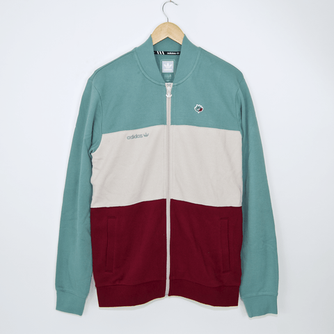 Adidas Skateboarding - Magenta Jacket - Vapour Steel / Clear Brown / Collegiate Burgundy