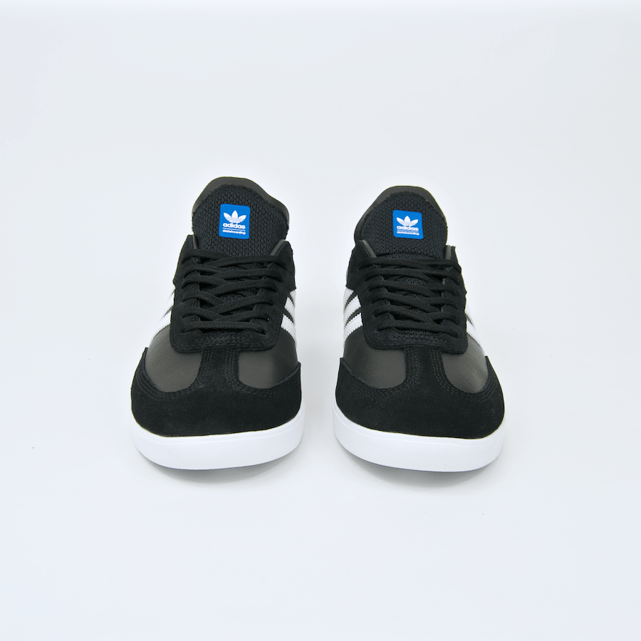 Adidas Skateboarding - Samba ADV Shoes - Core Black / Footwear White / Bluebird