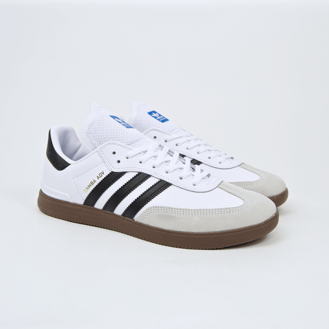 Adidas Skateboarding - Samba ADV Shoes - Footwear White / Core Black / Gum