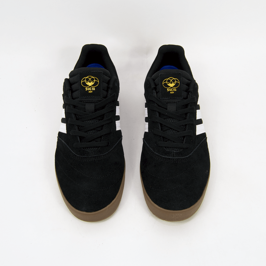 Adidas Skateboarding - Suciu ADV II Shoes - Core Black / White / Gum