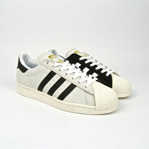 Adidas Skateboarding - Superstar ADV Shoes - (Two Tone) Footwear White / Core Black / Gold Metallic