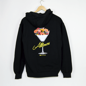 Alltimers - Bouquet Pullover Hooded Sweatshirt - Black