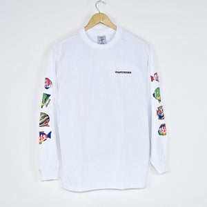 Alltimers - Deep Sea Longsleeve T-Shirt - White