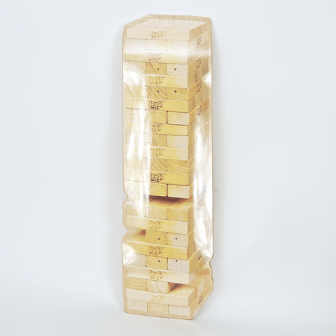 Alltimers - Jenga Shaped Skateboard Deck