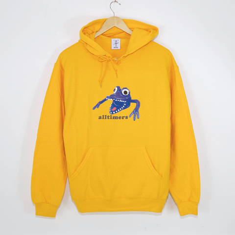 Alltimers - Monster Pullover Hooded Sweatshirt - Gold