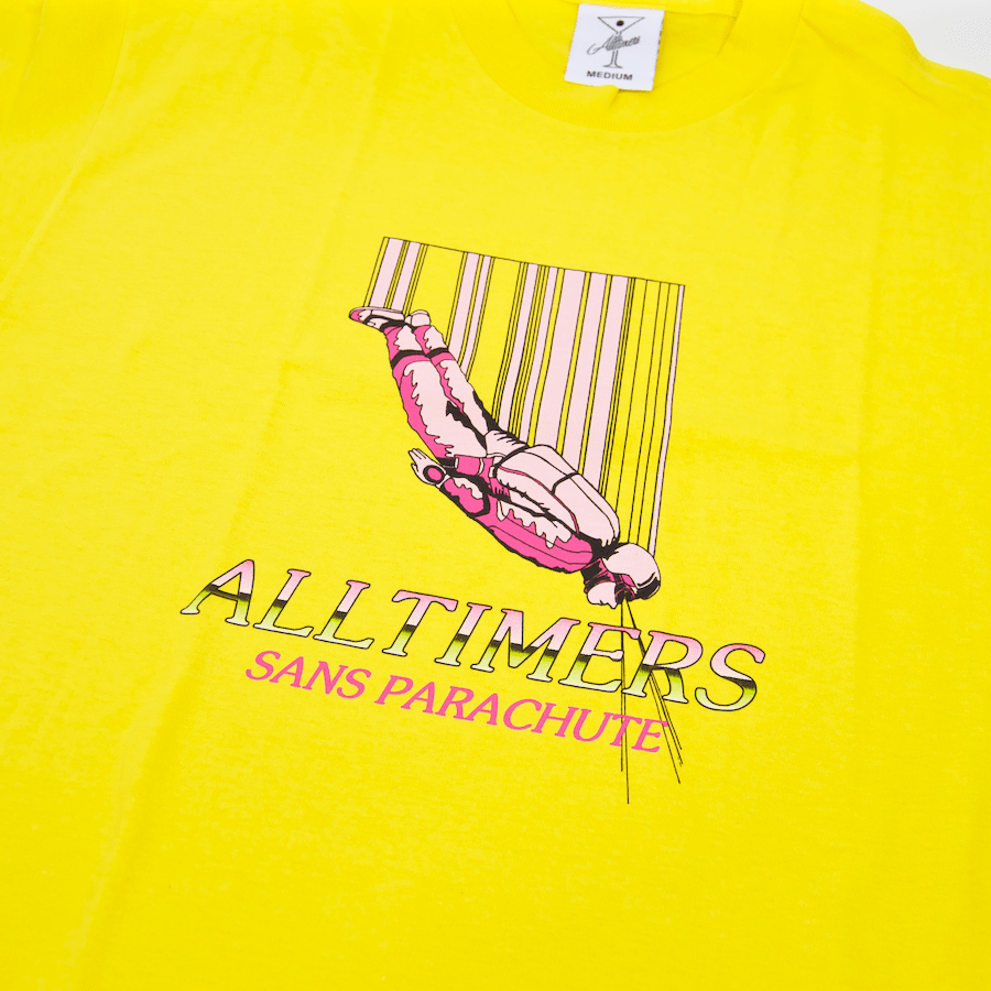 Alltimers - Sans T-Shirt - Yellow