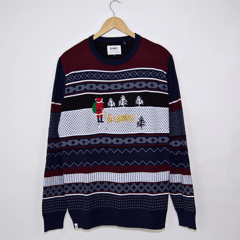 Altamont - Bad Santa Sweatshirt - Dark Navy