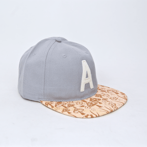 Altamont - Fungi Ball Cap - Grey Heather / Tan
