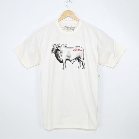 Anti Hero Skateboards - Cow T-Shirt - Cream