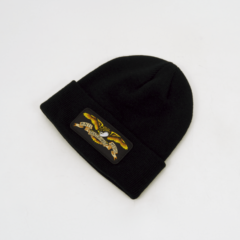 Anti Hero Skateboards - Eagle Patch Beanie - Black