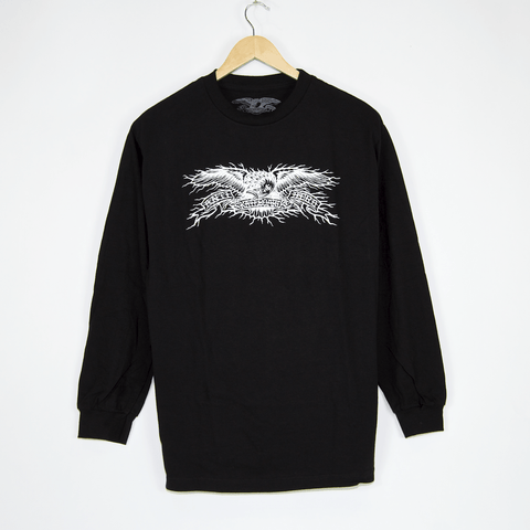 Anti Hero Skateboards - Hesh Eagle Longsleeve T-Shirt - Black