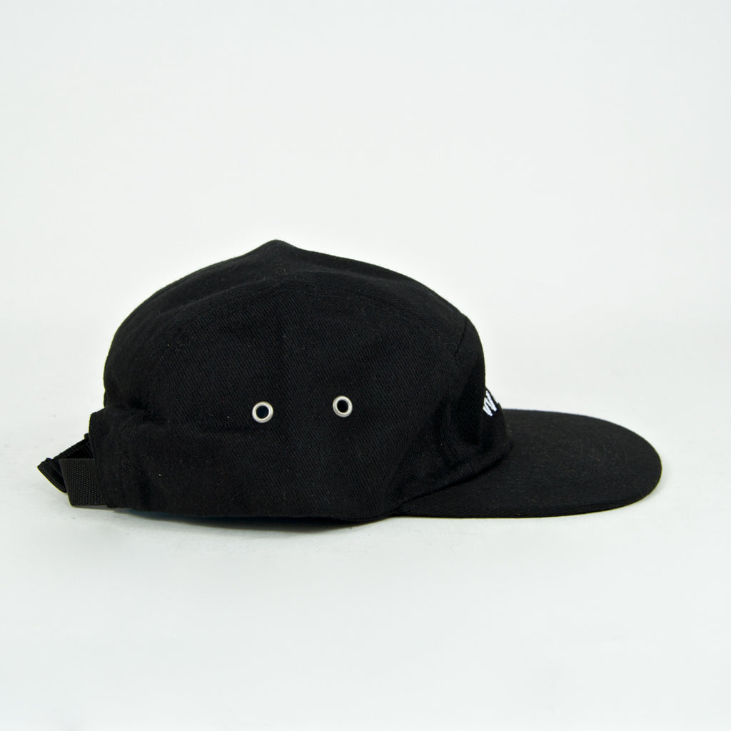 Welcome Skate Store - Arch 5-Panel Cap - Black