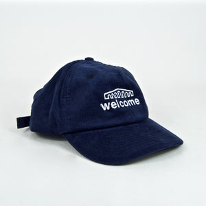 Welcome Skate Store - Arch Cord Cap - Navy