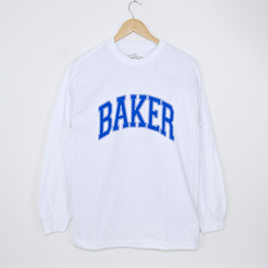 Baker Skateboards - Lakeland Longsleeve T-Shirt - White