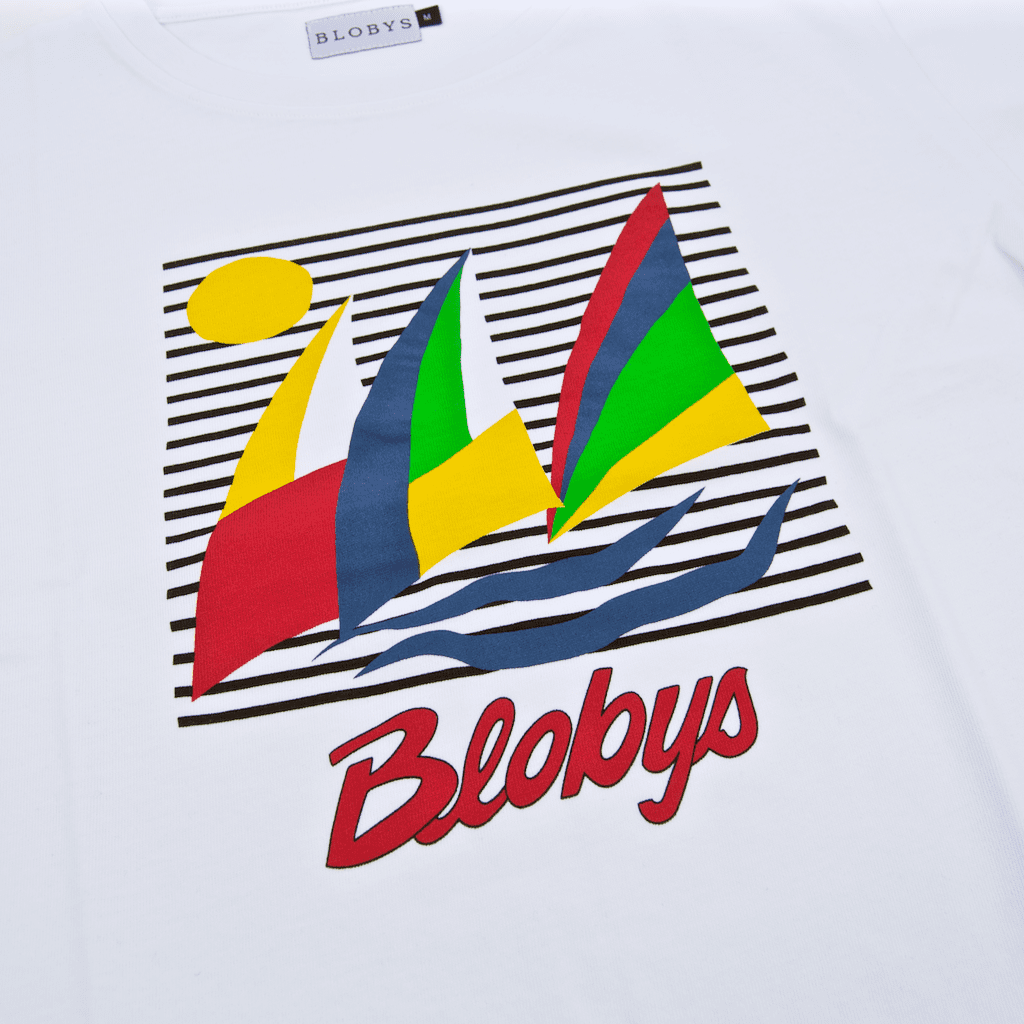 Blobys Paris - Boat T-Shirt - White