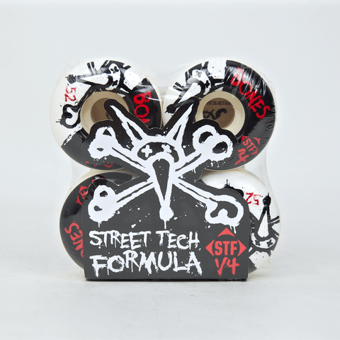Bones - 52mm STF Skateboard Wheels