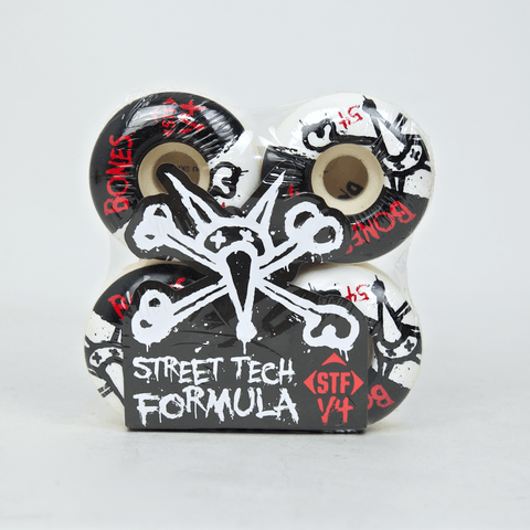 Bones - 54mm STF Skateboard Wheels