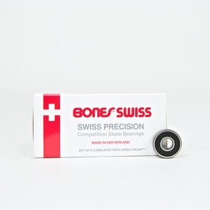Bones Bearings - Swiss Skateboard Bearings