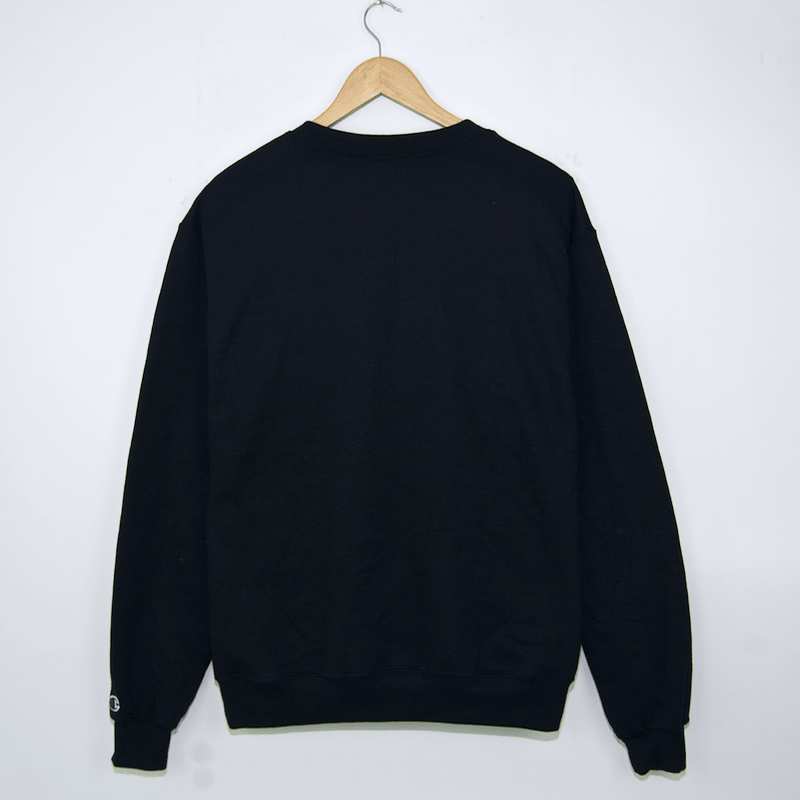 Bronze - Motorsport Crewneck Sweatshirt - Black