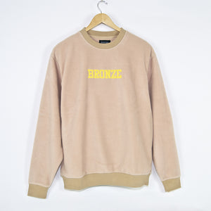 Bronze 56K - Bronze Fleece Crewneck Sweatshirt - Sand