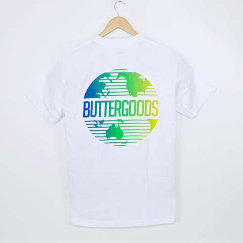 Butter Goods - Gradient Worldwide T-Shirt - White