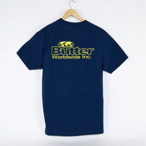 Butter Goods - Incorporated T-Shirt - Harbour Blue