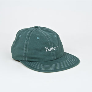 Butter Goods - Stitch 6 Panel Cap - Spruce