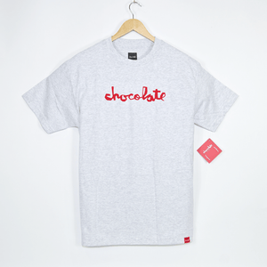 Chocolate Skateboards - Original Chunk T-Shirt - Ash Grey