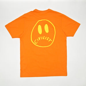 Civilist - Smiler T-Shirt – Orange