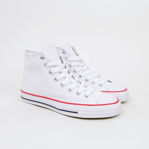 Converse Cons - CTAS Hi Pro OX (Canvas) Shoes - White / Red / Insignia Blue