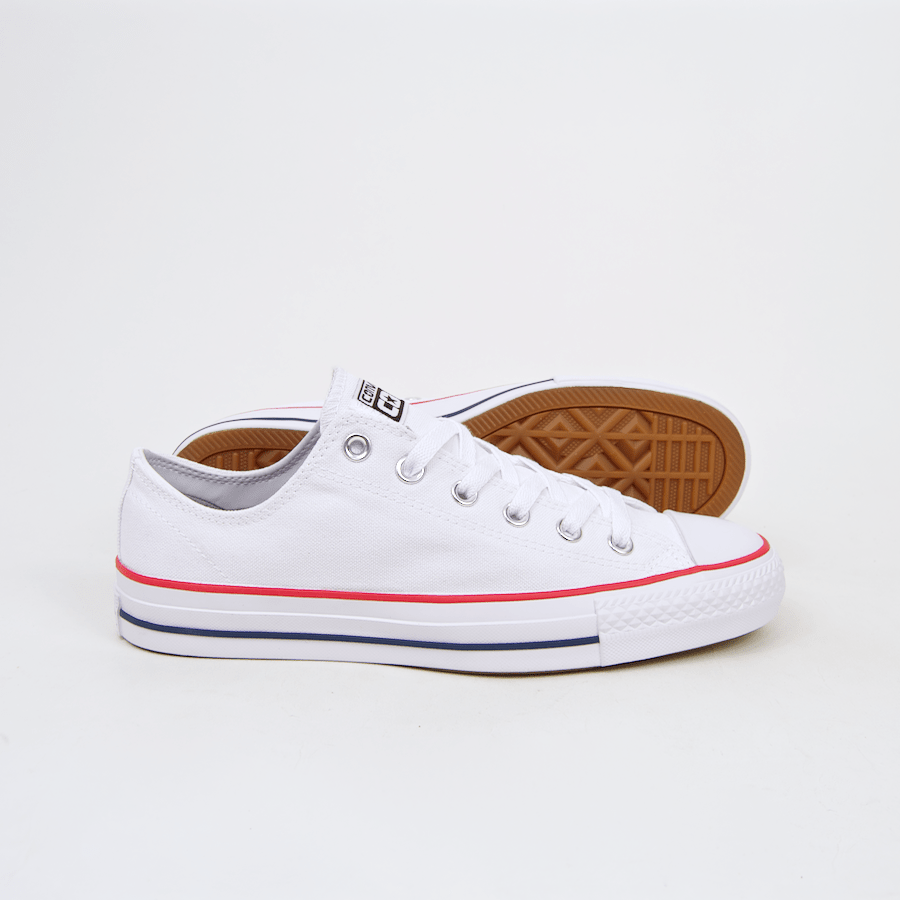 86a0df8c1a463f ... Converse Cons - CTAS Pro OX (Canvas) Shoes - White   Red   Insignia ...