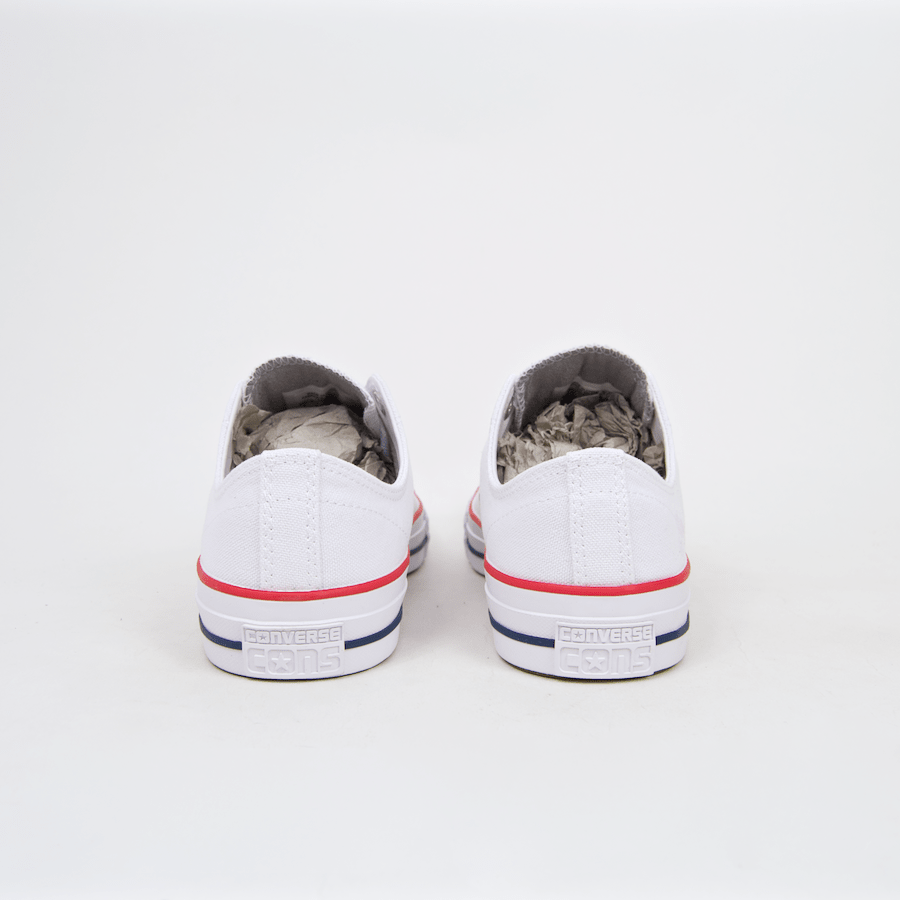 40a75e40222230 Converse Cons - CTAS Pro OX (Canvas) Shoes - White   Red   Insignia ...