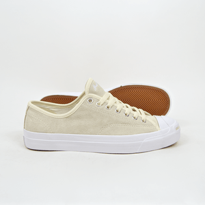 Converse Cons - Jack Purcell Pro OX (Suede) Shoes - Natural   White  . UK 10 84af911ab