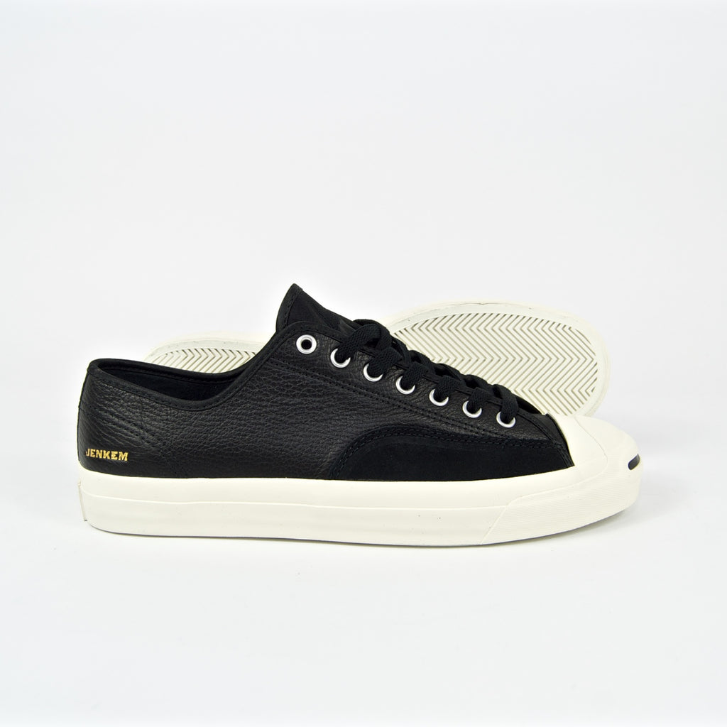 Converse Cons - Jenkem Jack Purcell Pro OX Shoes - Black / Egret / Black