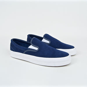 Converse Cons - One Star CC Slip-On Shoes - Navy / White