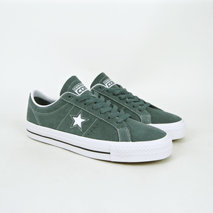 Converse Cons - One Star Pro OX Shoes - Hasta / White / White