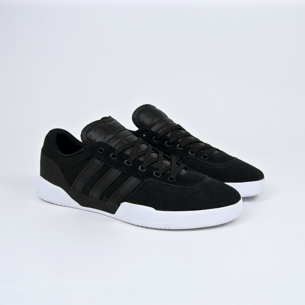 Adidas Skateboarding - City Cup Shoes - Core Black / Core Black / Footwear White