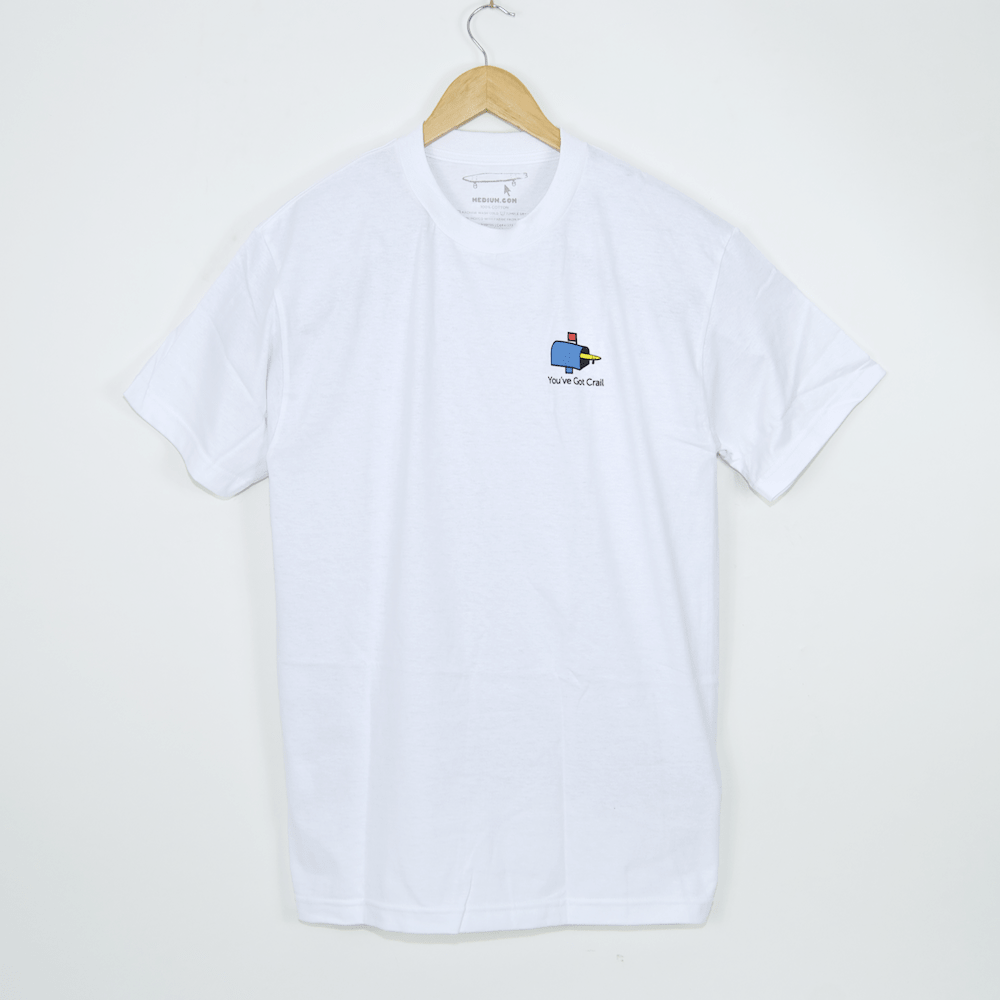Crailtap - You've Got Crail T-Shirt - White