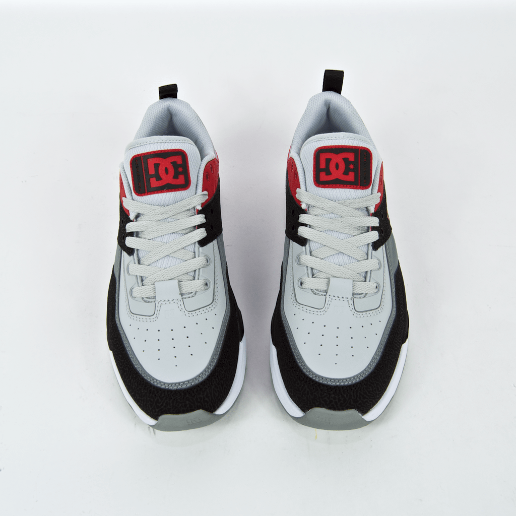 DC Shoes - E. Tribeka Shoes - Black / Athletic Red / Battleship Grey