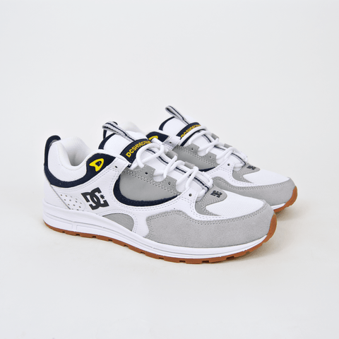 DC Shoes - Kalis Lite Shoes - White / Grey / Yellow