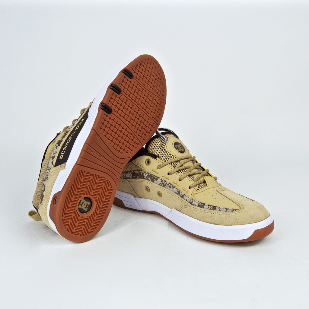 DC Shoes - Legacy 98 Slim Carlos Iqui Shoes - Tan Camo