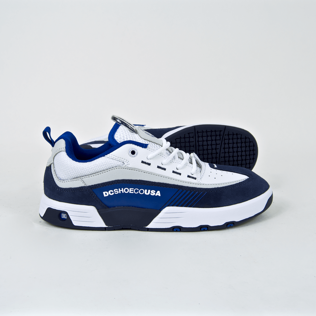 DC Shoes - Legacy 98 Slim Shoes - White / Blue / Blue