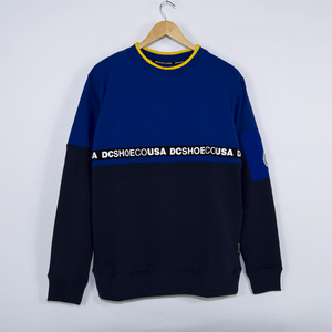 DC Shoes - Simmons Crewneck Sweatshirt - Nautical Blue